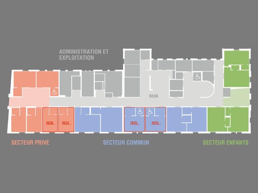 Plan Des Chambres  I